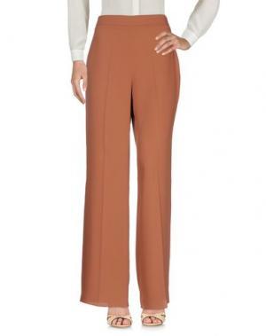 Повседневные брюки HANITA. Цвет: коричневый