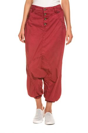 Trousers KHUJO. Цвет: red