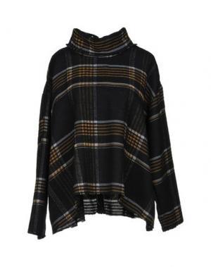 Легкое пальто HAIKURE. Цвет: черный