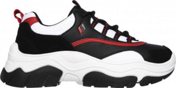 Кроссовки женские AmpD City StompN, размер 40 Skechers. Цвет: черный