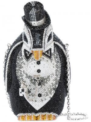 Сумка Alfred Penguin Judith Leiber Couture. Цвет: чёрный