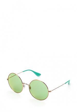 Очки солнцезащитные Ray-Ban® RB3592 9035C7. Цвет: золотой