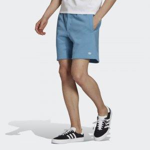Шорты Heavyweight Shmoofoil Originals adidas. Цвет: белый