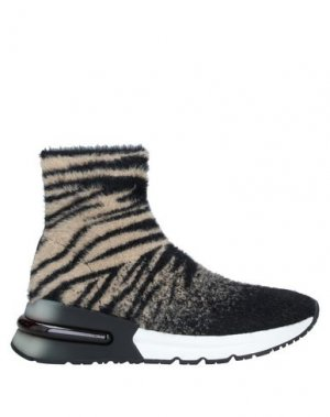 Высокие кеды и кроссовки ASH. Цвет: черный