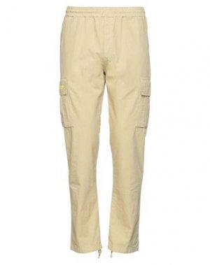 Повседневные брюки IUTER. Цвет: бежевый