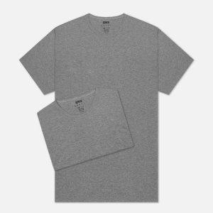 Комплект мужских футболок Double Pack SS Tubular Edwin. Цвет: серый