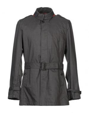Легкое пальто BARACUTA. Цвет: стальной серый