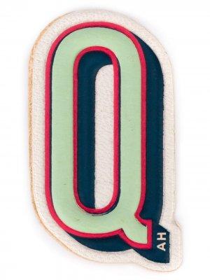 Наклейка Q Anya Hindmarch. Цвет: серый