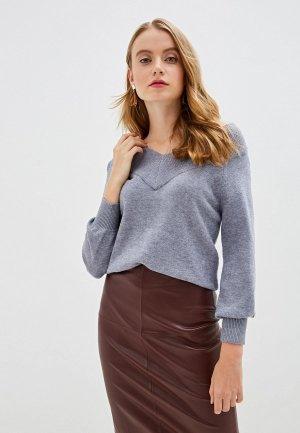 Пуловер Jacqueline de Yong. Цвет: синий