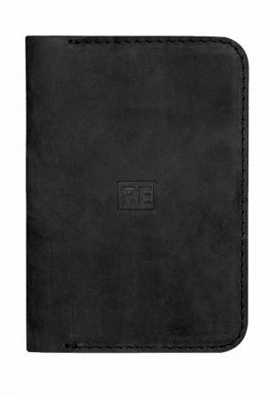 Обложка для паспорта Reconds. Цвет: черный