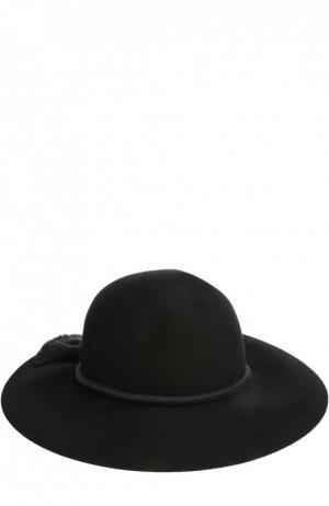 Фетровая шляпа Lanvin. Цвет: чёрный