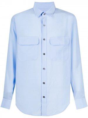 Рубашка Serenity EQUIPMENT GENDER FLUID. Цвет: синий