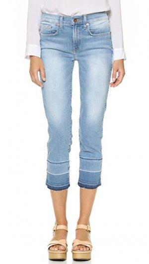 Прямые укороченные джинсы Birkin с высокой посадкой Genetic Los Angeles