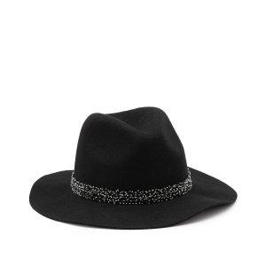 Шляпа LaRedoute. Цвет: черный