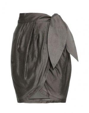 Юбка до колена JOIE. Цвет: серый