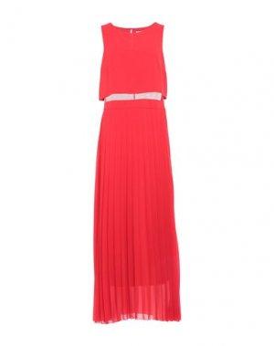 Длинное платье RINASCIMENTO. Цвет: красный