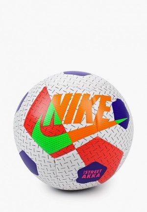 Мяч футбольный Nike NK STREET AKKA. Цвет: белый