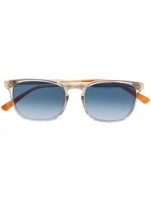 Солнцезащитные очки Kitsilano в квадратной оправе Etnia Barcelona. Цвет: синий