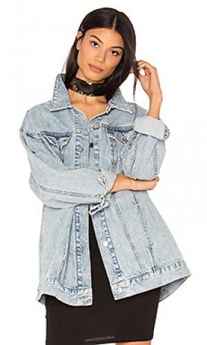 Джинсовая куртка upsize Cheap Monday. Цвет: none