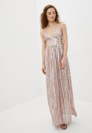 Платье Goddiva. Цвет: розовый