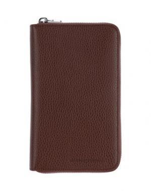 Бумажник BRUNELLO CUCINELLI. Цвет: какао