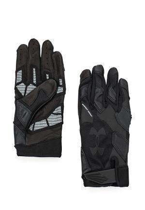 Перчатки для фитнеса Under Armour UN001DMOJA14. Цвет: черный