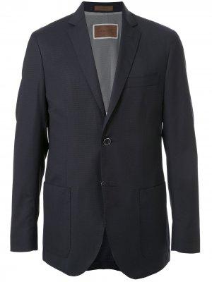 Непромокаемый пиджак Corneliani. Цвет: синий
