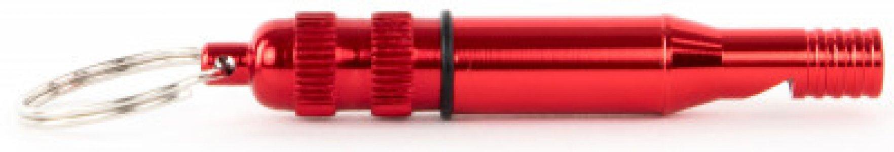Брелок Whistle Outventure. Цвет: красный