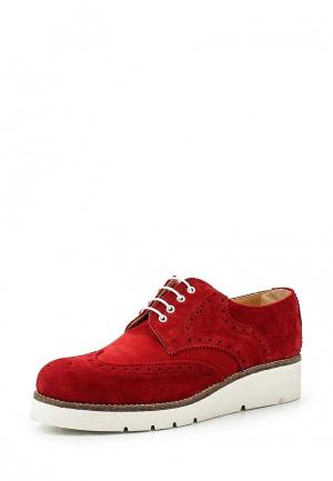 Ботинки Ana Lublin AN050AWSLY52. Цвет: красный