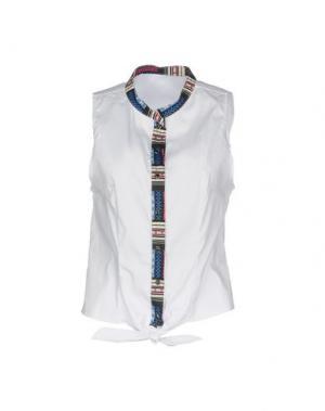 Pубашка F**K PROJECT. Цвет: белый