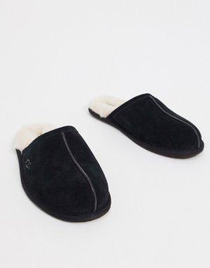 Черные замшевые слиперы -Черный UGG