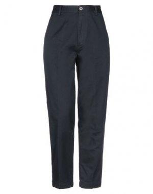 Повседневные брюки PENCE. Цвет: темно-синий