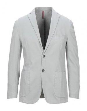Пиджак JERRY KEY. Цвет: светло-серый