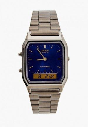 Часы Casio Collection AQ-230EGG-2AEF. Цвет: серебряный