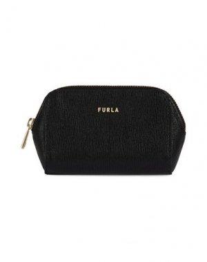 Кошелек для монет FURLA. Цвет: черный