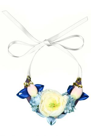 Колье Gioia di Mamma. Цвет: голубой