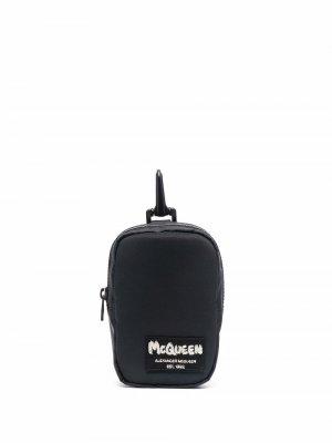 Small logo-patch wallet Alexander McQueen. Цвет: черный