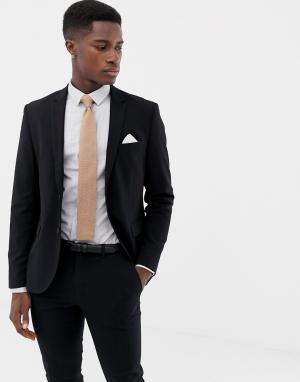 Приталенный пиджак -Черный Only & Sons