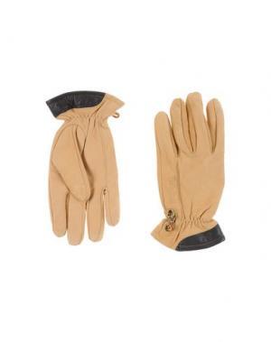 Перчатки TIMBERLAND. Цвет: верблюжий