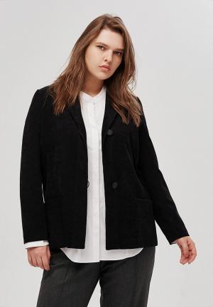 Пиджак W&B. Цвет: черный