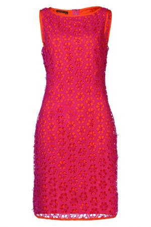 Платье Apart. Цвет: розовый, оранжево-красный
