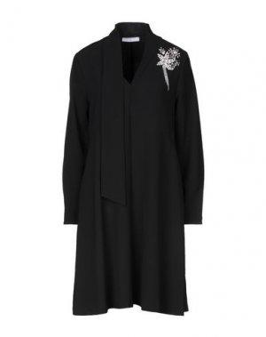 Короткое платье BEATRICE. Цвет: черный