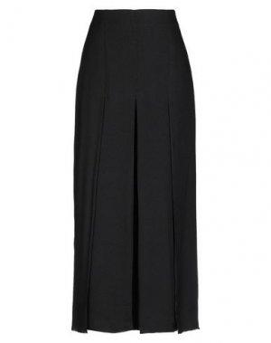 Длинная юбка EDUN. Цвет: черный