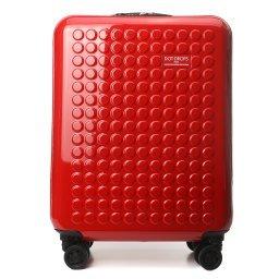 Чемодан 24124PC красный DOT-DROPS