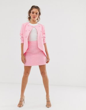 Мини-юбка Unique21-Розовый UNIQUE21