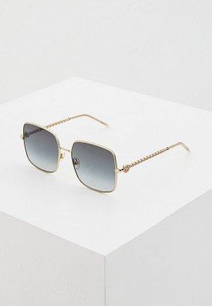 Очки солнцезащитные Elie Saab ES 078/S J5G GREY. Цвет: золотой