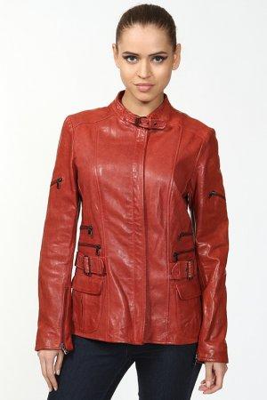 Куртка Benedetta Novi. Цвет: красный