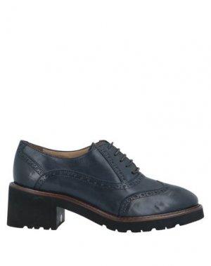 Обувь на шнурках CALPIERRE. Цвет: темно-синий