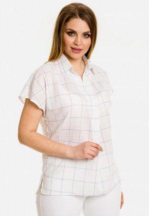 Блуза Venusita Челси. Цвет: белый