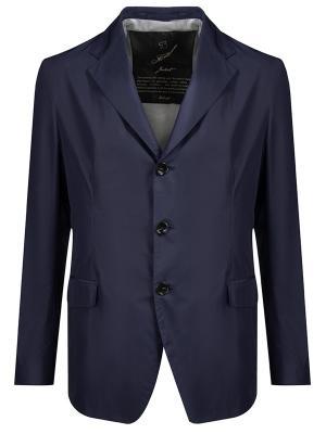 Пиджак классический Montecore. Цвет: синий
